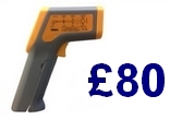 UKAS Calibrated Infrared Thermometer only £80!